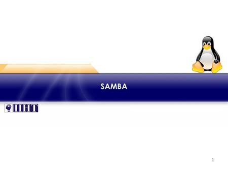 1 SAMBA. 2 Module - SAMBA ♦ Overview The presence of diverse machines in the network environment is natural. So their interoperability is critical. This.