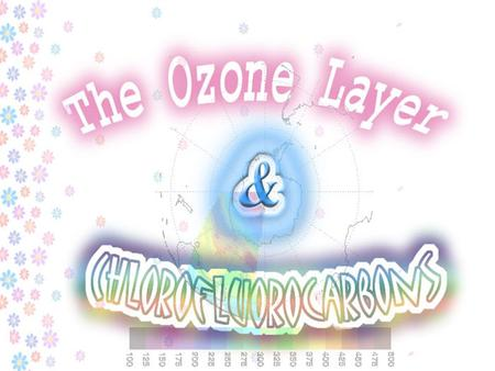 §Ozone in the stratosphere undergo photodissociation by absorbing UV radiation UV light O 3(g) → O (g) + O 2(g) (1) §The free O atom further reacts.
