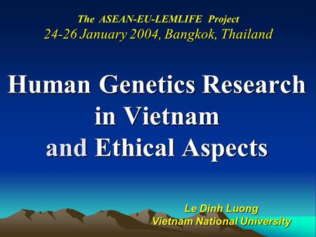 ethics in genetic research1