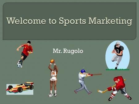Welcome to Sports Marketing