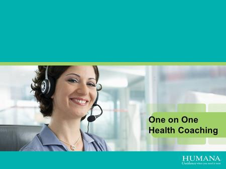 Personalized Coaching vs. Self-Guided Programs One on One Health Coaching.