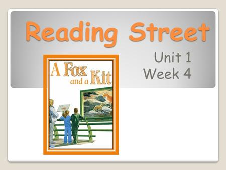 Reading Street Unit 1 Week 4. How are people and animals important to one another? How do people take care of pets? How <strong>can</strong> people help animals? Animal.