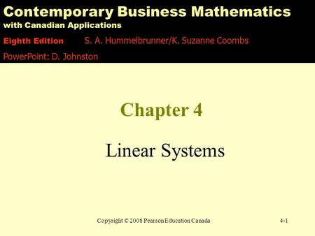 contemporary business mathematics with canadian applications with solutionspdf