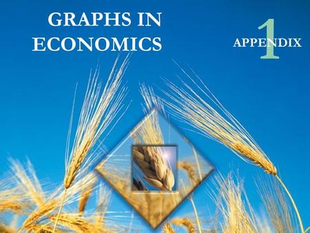 © Pearson Education Canada, 2003 GRAPHS IN ECONOMICS 1 APPENDIX.