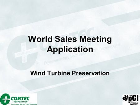 World Sales Meeting Application