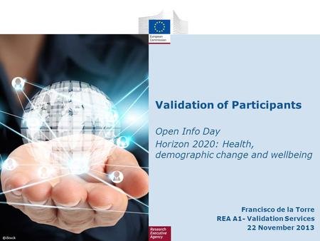 Validation of Participants