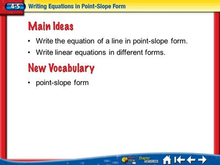 write linear equations in point slope form calculator point slope form section 5 4 part 2. Black Bedroom Furniture Sets. Home Design Ideas