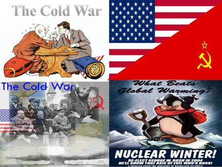 events that led to the cold Causes of the cold war timeline key us history events and dates  according  to the policy of massive retaliation, any soviet-led attack on an ally of the united.
