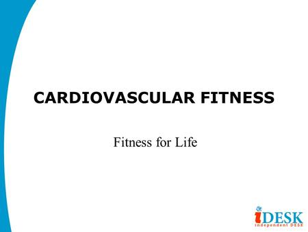 cardiovascular fitness project Create effective cardiac rehabilitation exercise programs this is an excerpt from fitness professional's handbook, sixth edition by edward howley and dixie thompson evidence for exercise training.