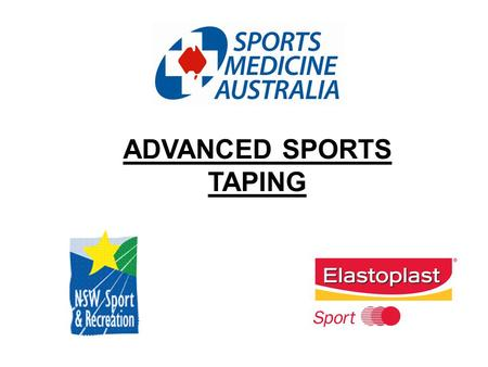 ADVANCED SPORTS TAPING. Types of Skin Reactions to Tape Physical Irritation Chemical Reaction Allergic Response.