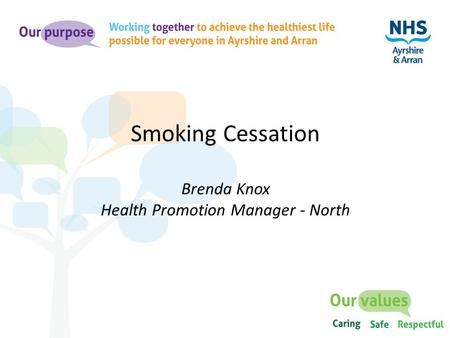 health promotion in nursing smoking cessation Effective smoking cessation strategies in primary care: a rapid review of the evidence diane clapham, public health and preventive medicine resident.