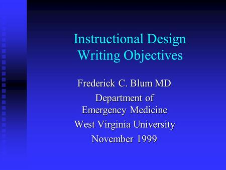 instructional design vs curriculum design