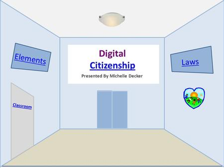 Presented By Michelle Decker Elements Laws Classroom It's our responsibility.
