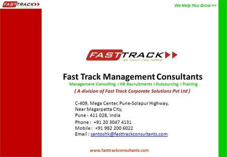 Fast Track Management Consultants