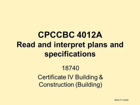 construction skills costin glenn pearson pdf