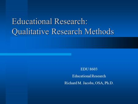 causal research methods A theory of statistical inference for matching methods in causal research stefano m iacusy gary kingz giuseppe porrox october 4, 2017 abstract researchers who.
