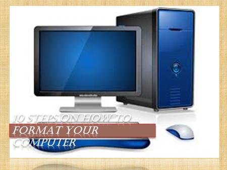  All computer has BIOS ( Basic input/output system). Here, you can set up how your PC will run. It is a blue colored full screen with different tabs.