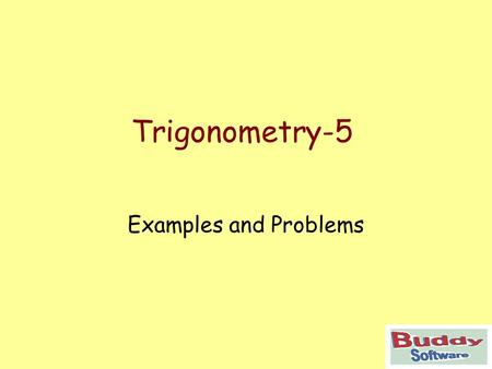Trigonometry-5 Examples and Problems. Trigonometry Working with Greek letters to show angles in right angled triangles. Exercises.