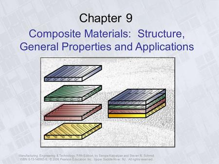 Composite Materials: Structure, General Properties and Applications