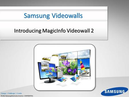Introducing MagicInfo Videowall 2