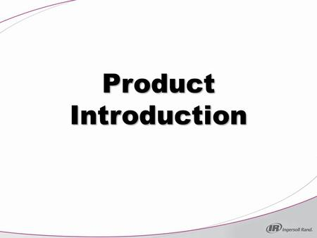 Product Introduction.