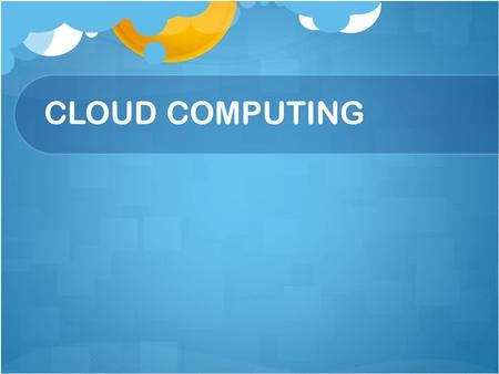 CLOUD COMPUTING. Contents Introduction to cloud computing. Three levels of cloud computing: Implementation of cloud computing Private cloud Public cloud.