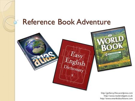 Reference Book Adventure