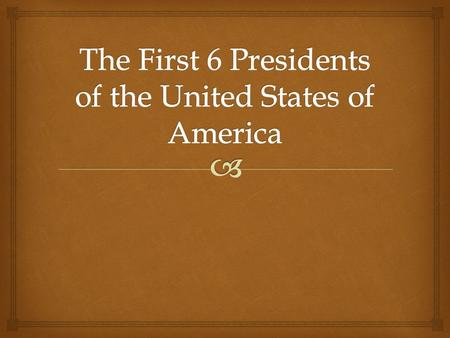  The 1 st President of the United States of America  Hamilton's Financial Plan:  Whiskey Rebellion 1794  Cabinet: John Adams: Vice President  -