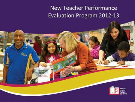 New Teacher Performance Evaluation Program 2012-13.