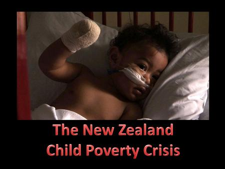 "An article by Ben Heather published by the Dominion Post raises awareness of the child poverty crisis. He states ""A new rigorous report has found that."
