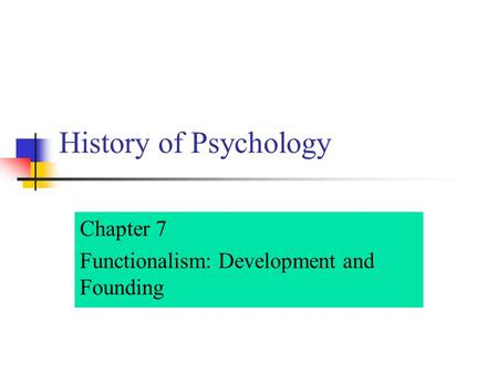 historical development of psychology Biological psychology's historical development is examined in conjunction with the three major points eg important theorists, the relationship between biological.