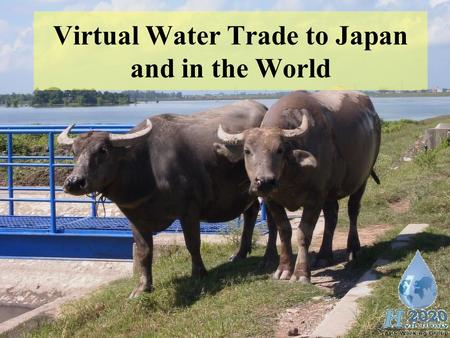 "Virtual Water Trade to Japan and in the World. 2 ""Required water"" …the water that is used in the production process of agricultural or industrial goods."