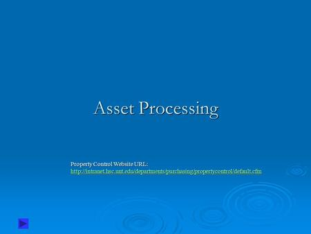 Asset Processing Property Control Website URL:
