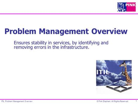 Problem Management Overview