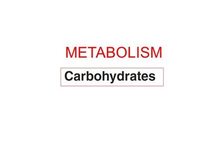 METABOLISM. The enzymatic reactions does not occur in isolation but rather they occurred in an organized manner i.e. a Pathway!!!
