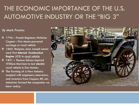 The french automotive industry