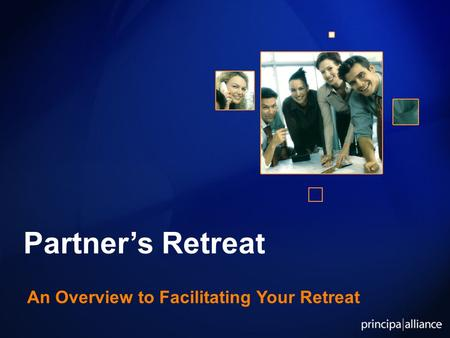 Partner's Retreat An Overview to Facilitating Your Retreat.