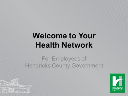 Welcome to Your Health Network