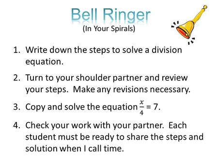 Bell Ringer (In Your Spirals)