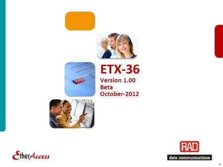 ETX-36 Version 1.00 Beta October-2012