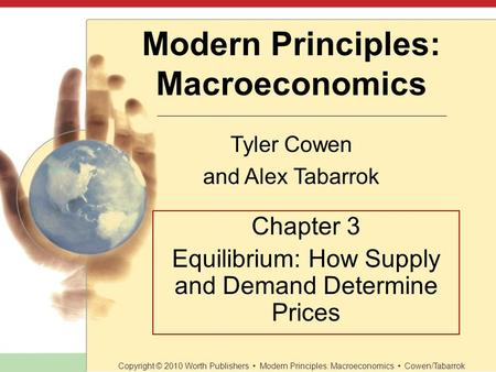 Modern Principles Macroeconomics Tyler Cowen And Alex Tabarrok