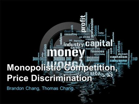 Monopolistic Competition, Price Discrimination