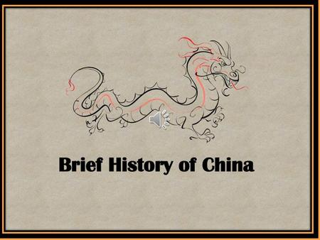 I. Evidence of very early life in China Agricultural Rev. gave rise to civilization in China.