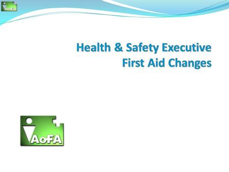 Background In 2003 / 2004, the Health and Safety Executive (HSE) conducted a review of the Health and Safety (First- Aid) Regulations 1981. This was aimed.