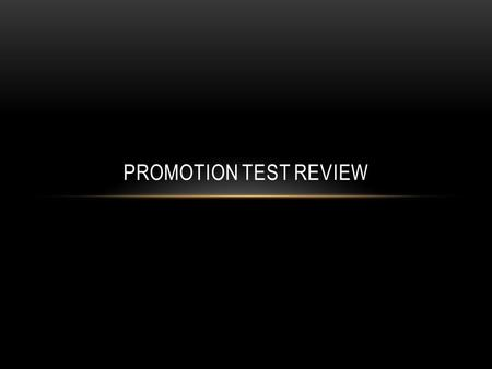 PROMOTION TEST REVIEW. STAFF & OFFICERS S-1: Adjutant or Personnel Officer C/Fellers, C S-2: Security Officer C/Tu, K S-3: Operations Officer C/Reider,