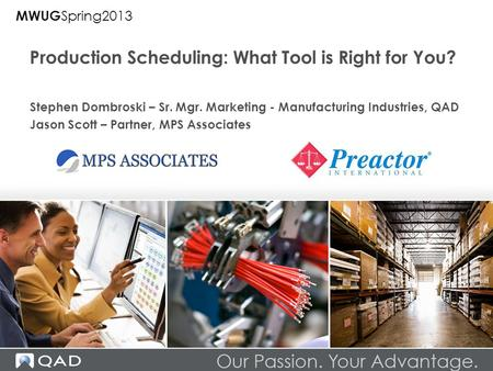 Production Scheduling: What Tool is Right for You?