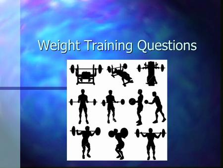 Weight Training Questions. Is it possible to increase the number of muscle fibers by resistance training?
