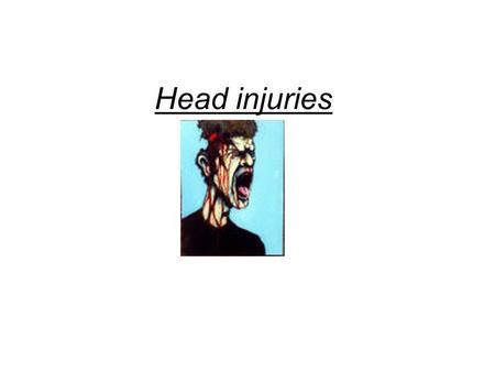 Head injuries. A head injury is any trauma that leads to injury of the scalp, skull, or brain. These injuries can range from a minor bump on the skull.