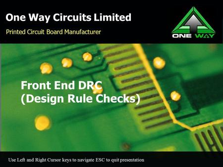 One Way Circuits Limited