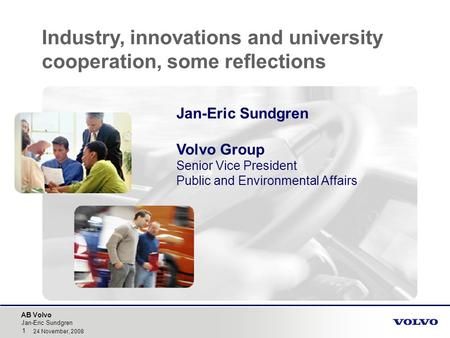 Industry, innovations and university cooperation, some reflections